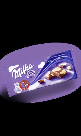 Шоколад Milka Happy Cow  (100 грамм)  (23 шт. в упаковке)