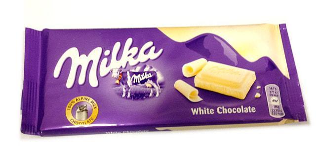 Milka White Chocolate (22 шт. в упаковке)