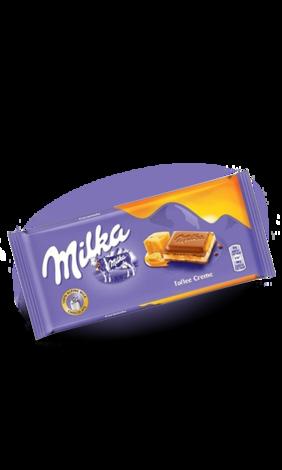 Milka Caramel (100 грамм)  (18 шт. в упаковке)
