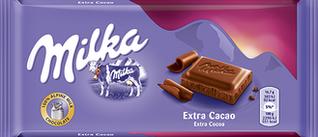 Milka Extra Cocoa (100 грамм)  (23 шт. в упаковке)
