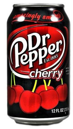 Dr.Pepper Cherry 355ml США (12шт-упак)