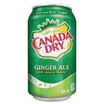 Canada Dry Ginger Ale  330ml (24шт-упак)