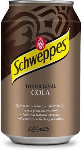 Schweppes The Original COLA  0,33 литра