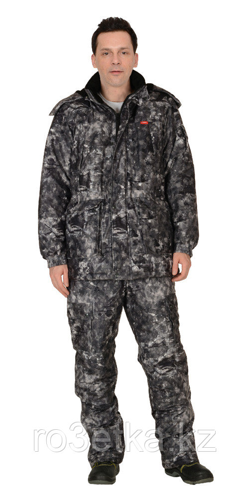 "Костюм ""ХАНТЕР"" зимний: куртка дл., брюки (тк.""Алова"") КМФ ""ТопГан"""