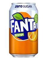 Fanta Zero Orange 330 мл