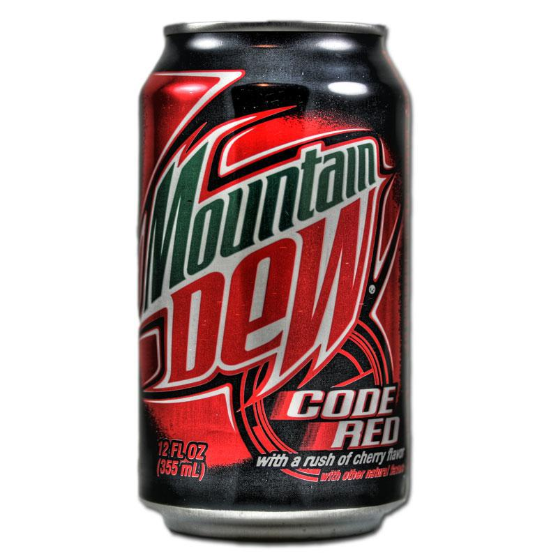 Mountain Dew Code Red 0,355 литра США