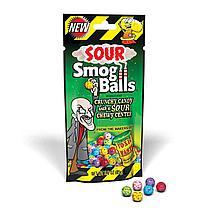 Драже с кислым центром пакет Smog Balls 85гр /TOXIC WASTE/