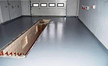 Бетонный пол для гаражей