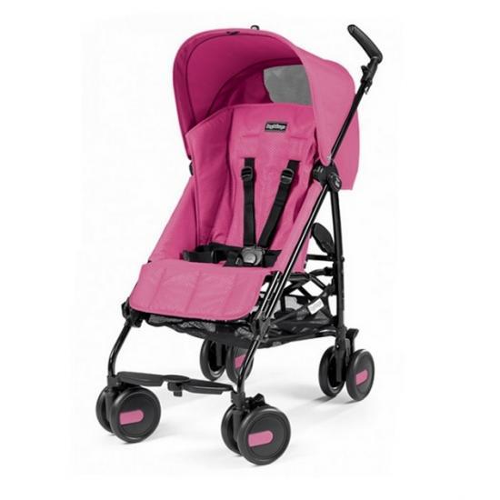 Коляска трость PEG PEREGO  PLIKO MINI Lightweight stroller with hood MOD PINK
