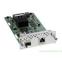 Модуль  NIM-1GE-CU-SFP 1 порт 1000BASE-T/SFP сдвоенный