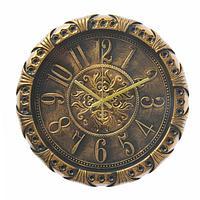 Часы настенные круг. под металл арабские цифры 30*30см, фото 1