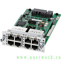 Модуль NIM-ES2-8 - 8-port Layer 2 Gigabit Ethernet LAN Switch NIM