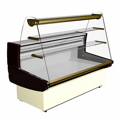 Кондитерская витрина Carboma K85 SM 1,2-1 (ВХСд-1,2 ЭКО) предназначена для демонстрации, охлаждения и кратковр