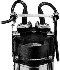 Насос фекальный погружной, ЗУБР НПФ-450, 450 Вт, пропускная способность 250 л/мин, напор 12 м, чугунный корпус, провод 5 м, фото 3