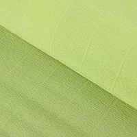 Бумага гофрированная 566 прозрачно-зеленая, 50 см х 2,5 м, фото 1