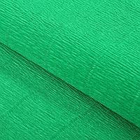 Бумага гофрированная 563 зеленая, 50 см х 2,5 м, фото 1