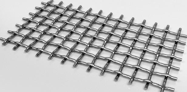 Сетка рифленная (для грохота), ГОСТ 3306-88