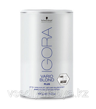 Schwarzkopf Professional Осветляющий порошок (Igora Vario Blond Plus), 450 г