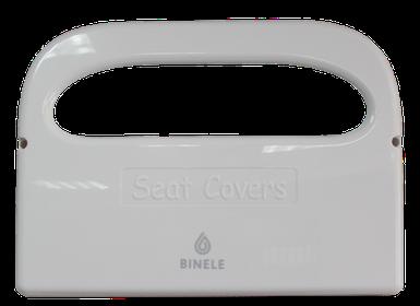 Диспенсер для подкладок на сиденье унитаза белый