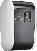 Диспенсер автоматический освежителя воздуха черно-белый