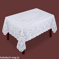Скатерть, 165х205 см., белый, 100% п/э   2860666