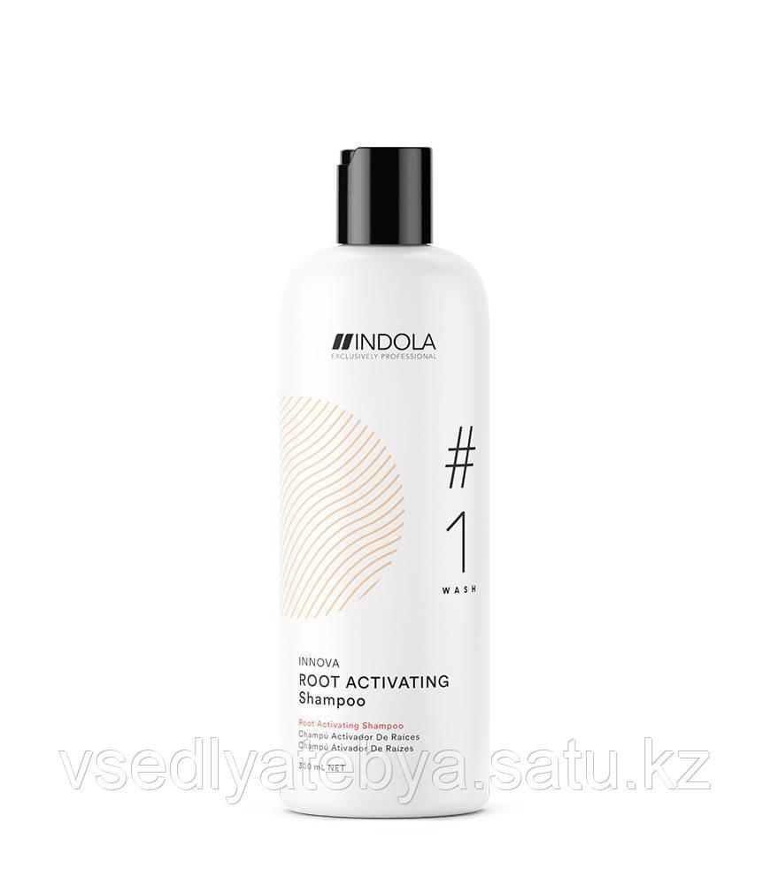 Indola Шампунь активирующий рост волос / Specialists Hairgrowth Shampoo (Innova), 300 мл