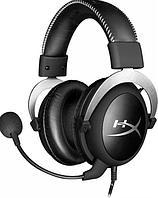 Наушники-гарнитура HyperX HX-HSCL-SR/NA Cloud Silver