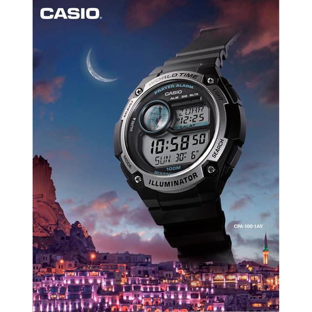 Мусульманские часы Casio