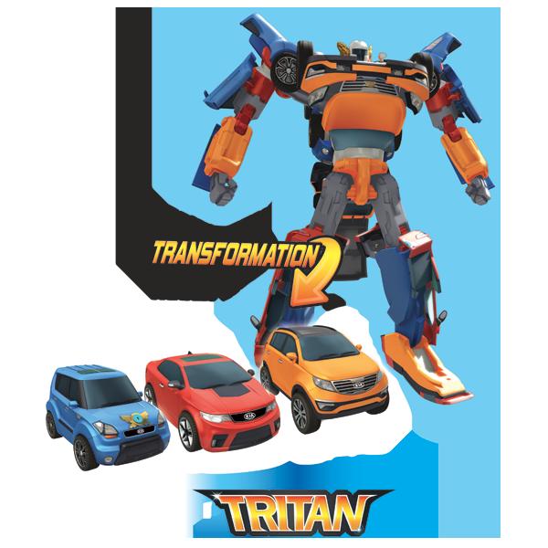 Робот-трансформер Tobot - Тритан