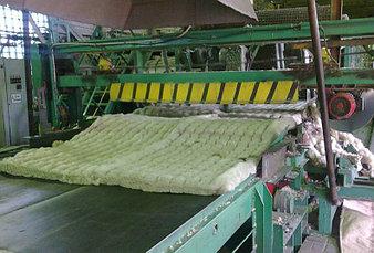Производство прошивной минеральной ваты  1