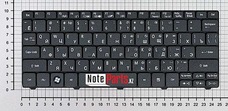 Клавиатура для ноутбука Acer Aspire One D260/ Gateway LT21, RU, черная, фото 2