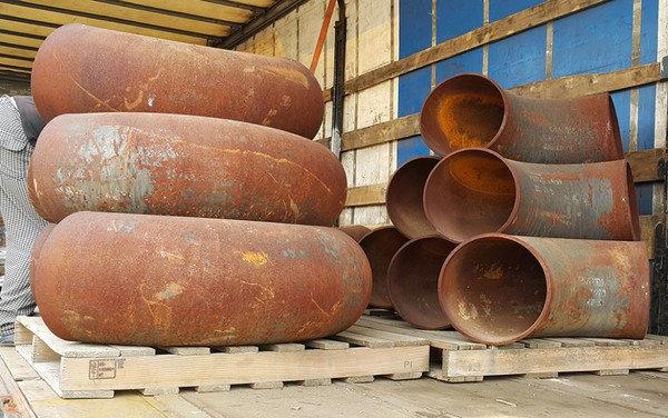 Отводы ГОСТ 17375-2001 R1.5 ст.09Г2С 377x16, фото 2