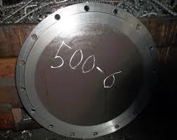 Заглушки фланцевые АТК 24.200.02.90 ст 09Г2С Ру40 500, фото 2