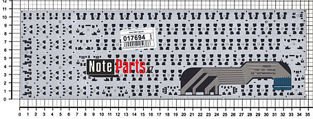 Клавиатура для ноутбука Asus X541, RU, без рамки ,черная, фото 2