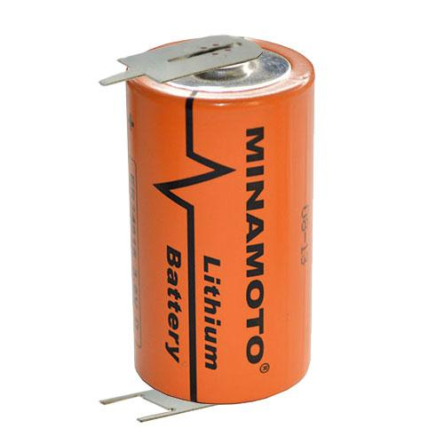 Литиевый элемент питания MINAMOTO ER34615 T 3 6В