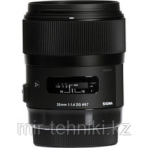Объектив Sigma 35mm f/1.4 DG HSM Art Nikon