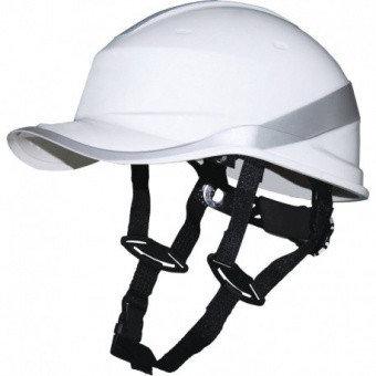 Каска защитная из ABS BASEBALL DIAMOND V UP белая