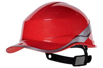 Каска защитная из ABS BASEBALL DIAMOND V UP красная