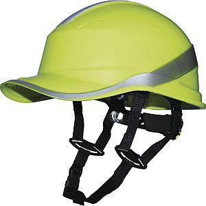 Каска защитная из ABS BASEBALL DIAMOND V UP зеленая