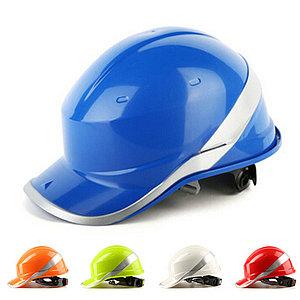 Каска защитная из ABS BASEBALL DIAMOND V UP синяя