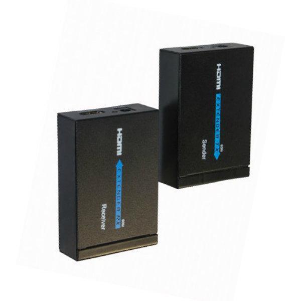 Удлинитель HDMI по витой паре HDMI Extender  (до 60 метров)
