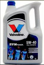 Valvoline Syn Power 5W 40 (4+1L)