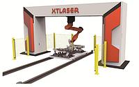 3D волоконная лазерная резка XTC-FR14/18/20