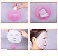 Прессованные косметические одноразовые маски-таблетки для лица. Для косметических процедур, фото 1