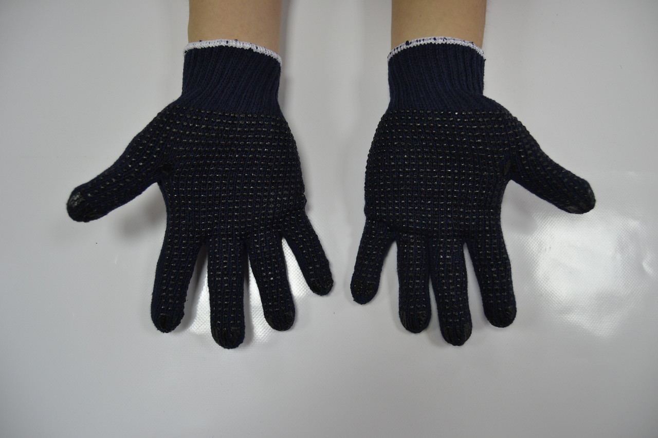 Перчатки рабочие х/б «Точка Р»