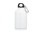 Бутылка для спорта. Алюминий. Емкость: 400 мл. Цвет белый.