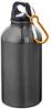 Бутылка для питья с карабином Цвет:Черный. Поворотная крышка. Карабин не предназначен для скалолазанья. Объем