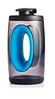 Бутылка Bopp Sport объемом 550 мл, цвет голубой/черный