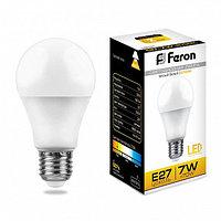 Лампа светодиодная LB-91 (7W) 230V E27 2700K A60