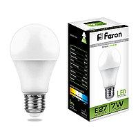 Лампа светодиодная LB-91 (7W) 230V E27 4000K A60